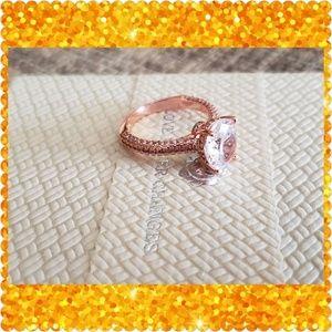 2 LEFT💥FLASH SALE💥❤18K Rose Gold Sapphire❤